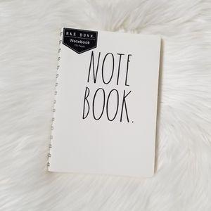 RAE DUNN Notebook NEW